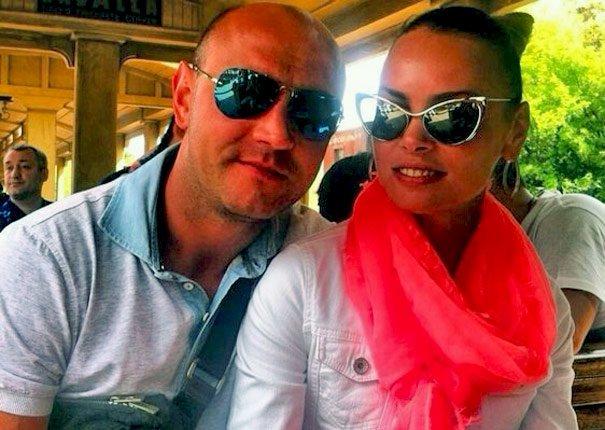 Сергей Назаренко с женой Анной