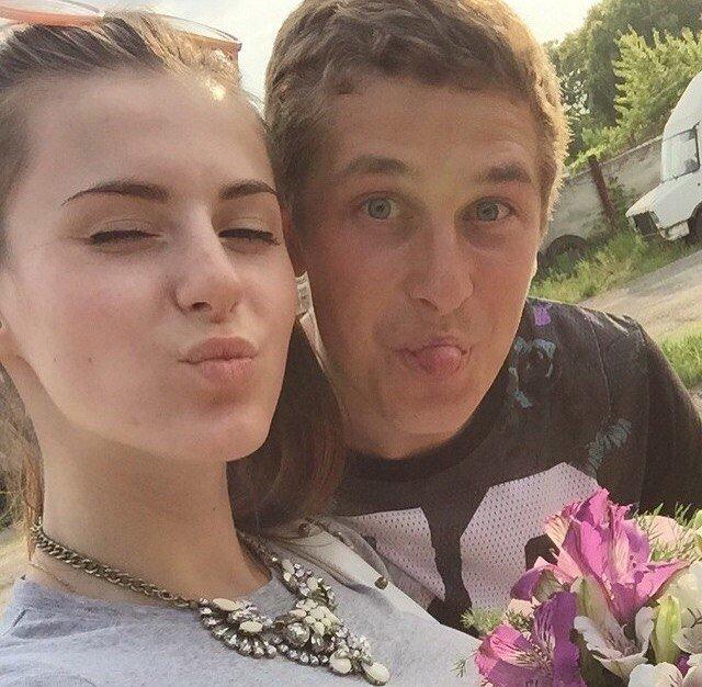 Андрей Близниченко с девушкой