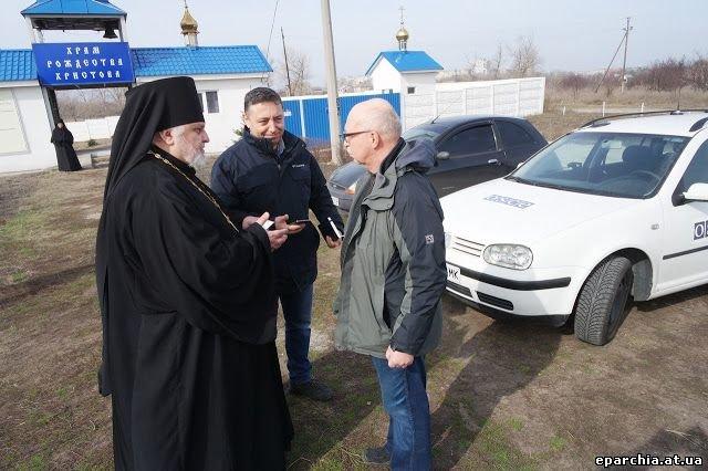 Куриловку посетили представители миссии ОБСЕ (фото) - фото 2