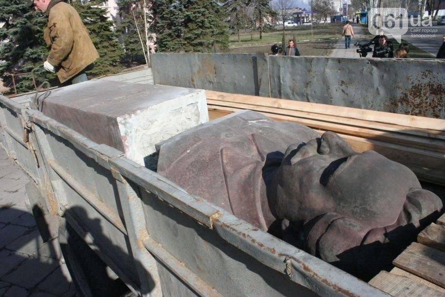 Как в Запорожье убирали Орджоникидзе (ФОТО, ВИДЕО) (фото) - фото 3
