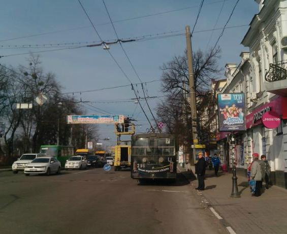 В Сумах парализовано движение троллейбусов (ФОТО) (фото) - фото 1