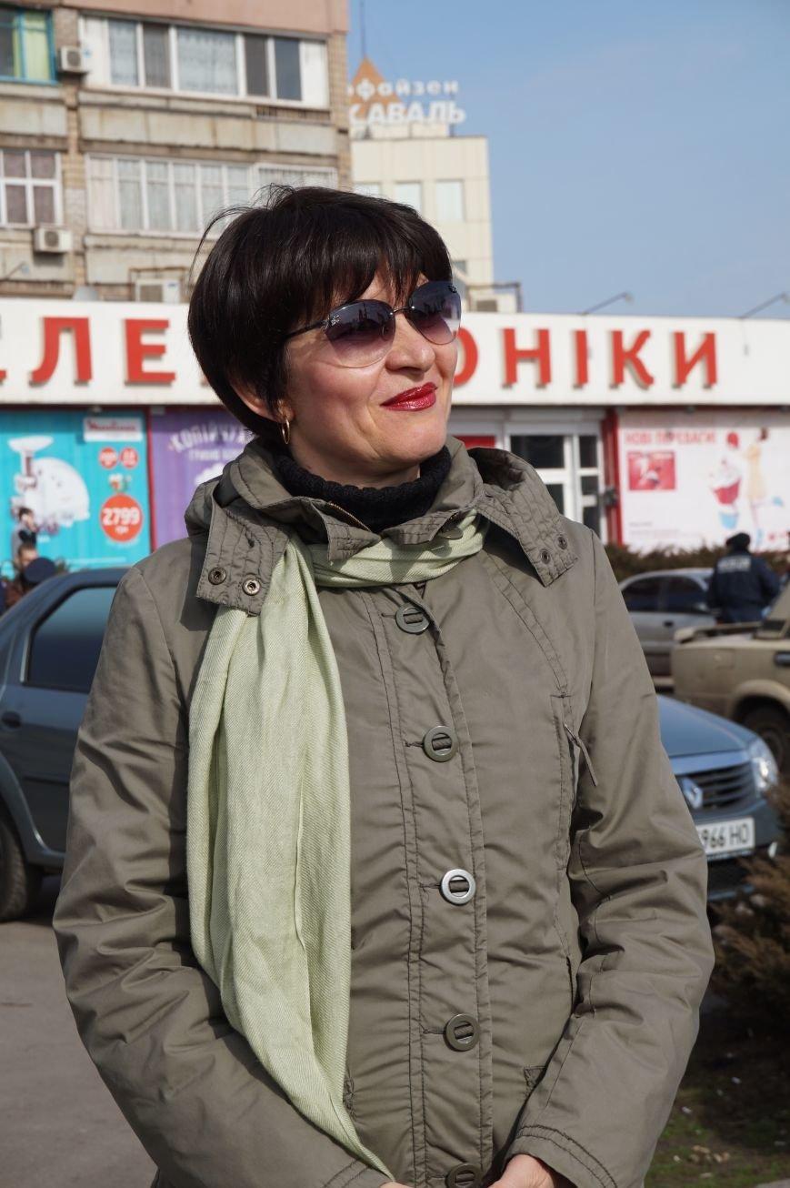 """Путін, ти с**ло: воюєш із жінками"":  криворожане вышли на акцию в поддержку Надежды Савченко (ФОТО), фото-8"