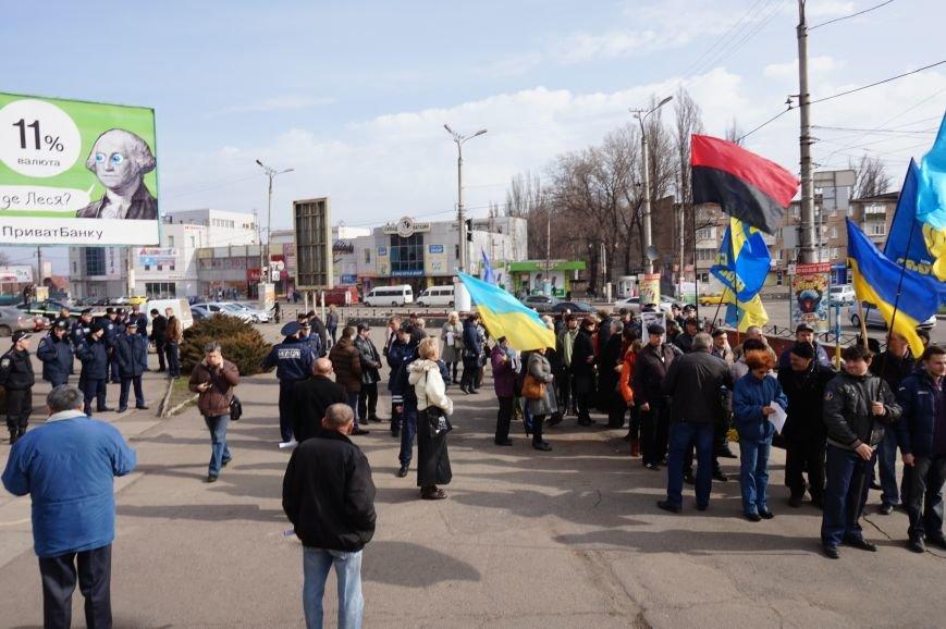 """Путін, ти с**ло: воюєш із жінками"":  криворожане вышли на акцию в поддержку Надежды Савченко (ФОТО), фото-25"