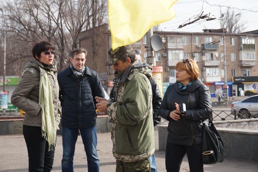"""Путін, ти с**ло: воюєш із жінками"":  криворожане вышли на акцию в поддержку Надежды Савченко (ФОТО), фото-3"