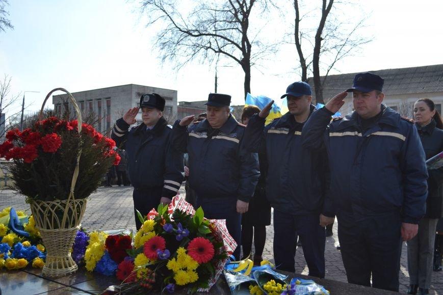 В Днепродзержинске отмечают день рождения Тараса Шевченко, фото-13