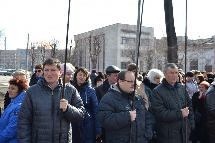 В Днепродзержинске отмечают день рождения Тараса Шевченко, фото-6