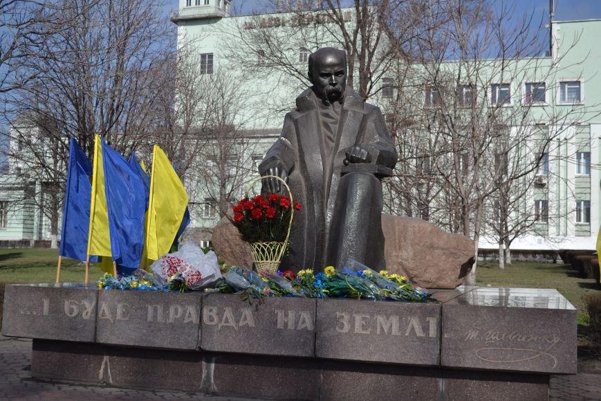 В Днепродзержинске отмечают день рождения Тараса Шевченко, фото-17