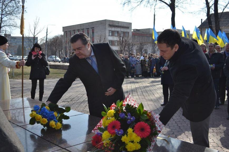 В Днепродзержинске отмечают день рождения Тараса Шевченко, фото-11