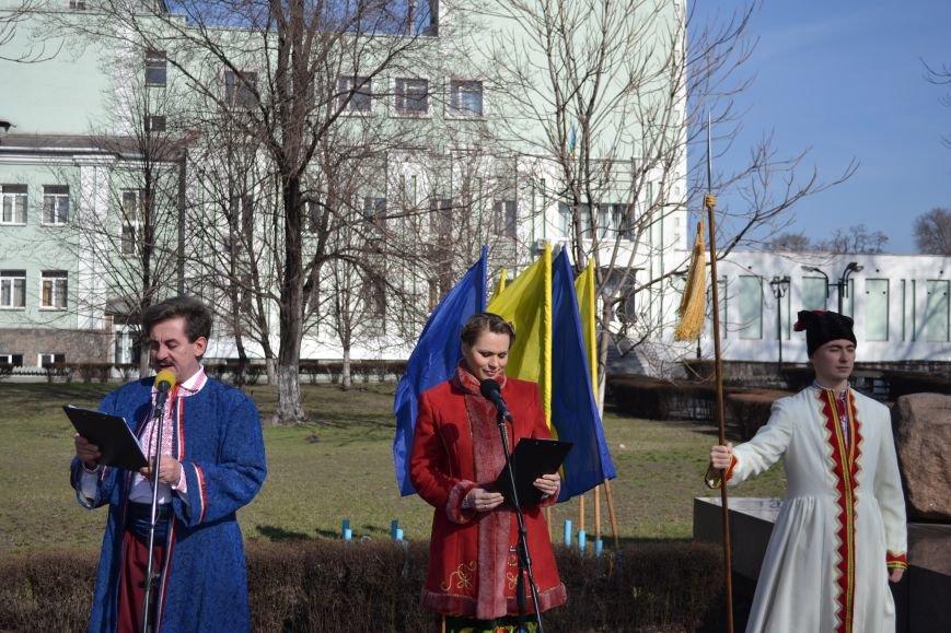 В Днепродзержинске отмечают день рождения Тараса Шевченко, фото-8
