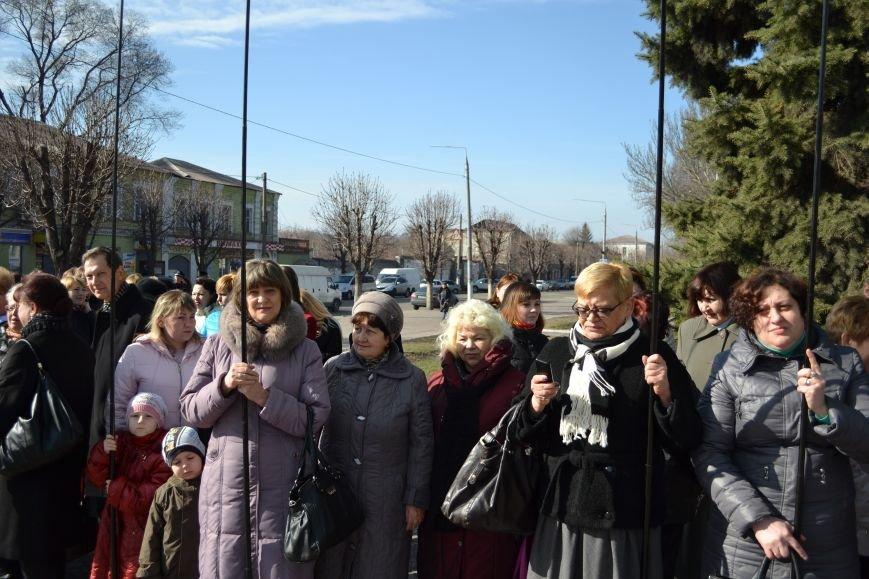 В Днепродзержинске отмечают день рождения Тараса Шевченко, фото-2