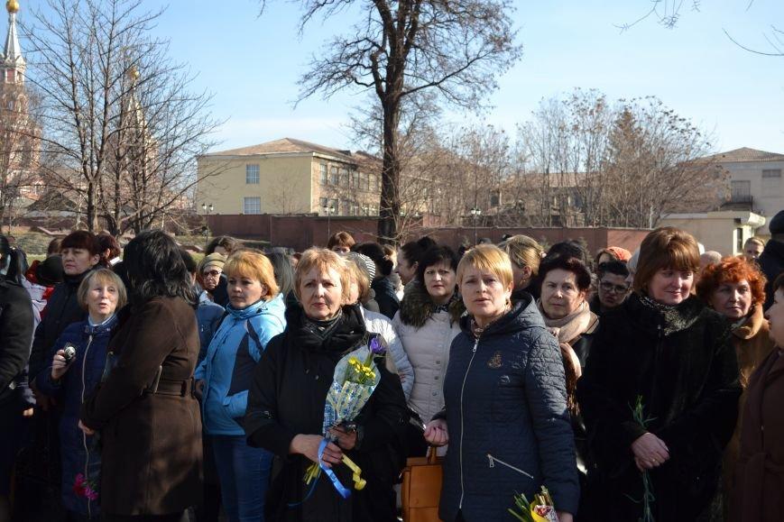 В Днепродзержинске отмечают день рождения Тараса Шевченко, фото-4