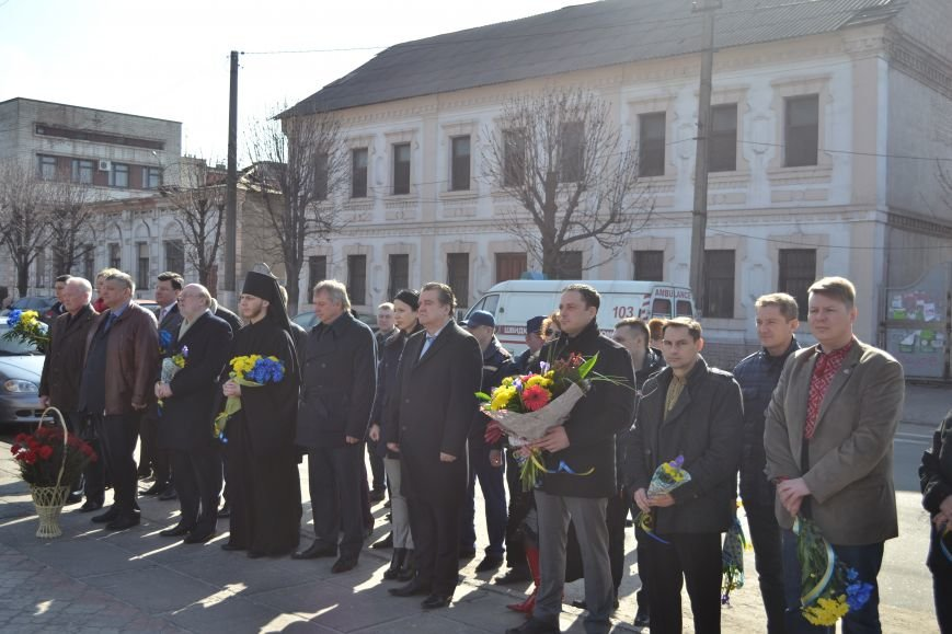В Днепродзержинске отмечают день рождения Тараса Шевченко, фото-9