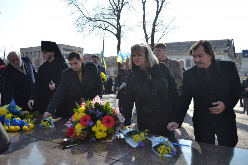 В Днепродзержинске отмечают день рождения Тараса Шевченко, фото-12