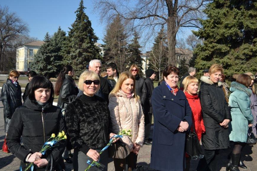 В Днепродзержинске отмечают день рождения Тараса Шевченко, фото-3