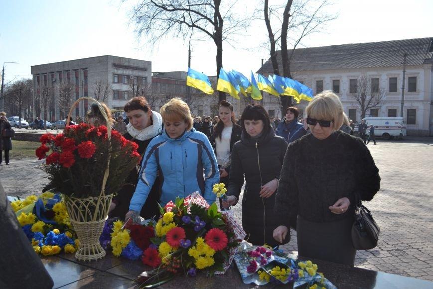 В Днепродзержинске отмечают день рождения Тараса Шевченко, фото-14