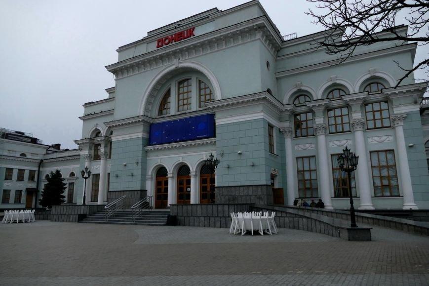 Как сегодня выглядит железнодорожный вокзал в Донецке (ФОТО) (фото) - фото 3