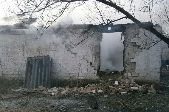 На Полтавщине сгорела семья (фото) - фото 1