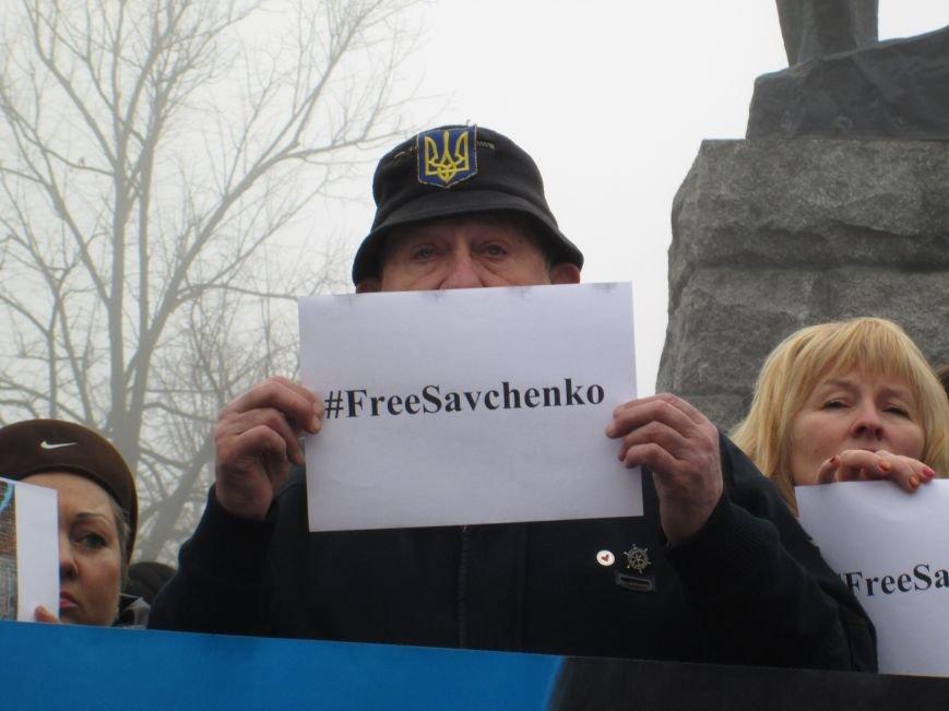 #FreeSavcheno: Одесситы начали марафон по поддержке Надежды Савченко (ФОТО, ВИДЕО) (фото) - фото 1