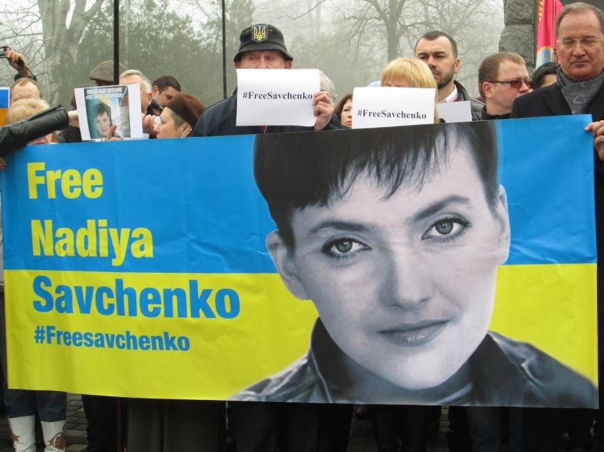 cd686d84b79223f989a474738fdfe66c #FreeSavcheno: Одесситы начали марафон по поддержке Надежды Савченко