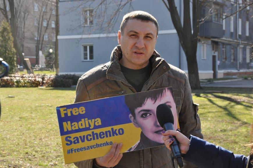 Шевченковский митинг в Краматорске перерос в акцию поддержки Надежды Савченко, фото-8