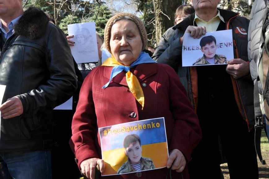Шевченковский митинг в Краматорске перерос в акцию поддержки Надежды Савченко, фото-6