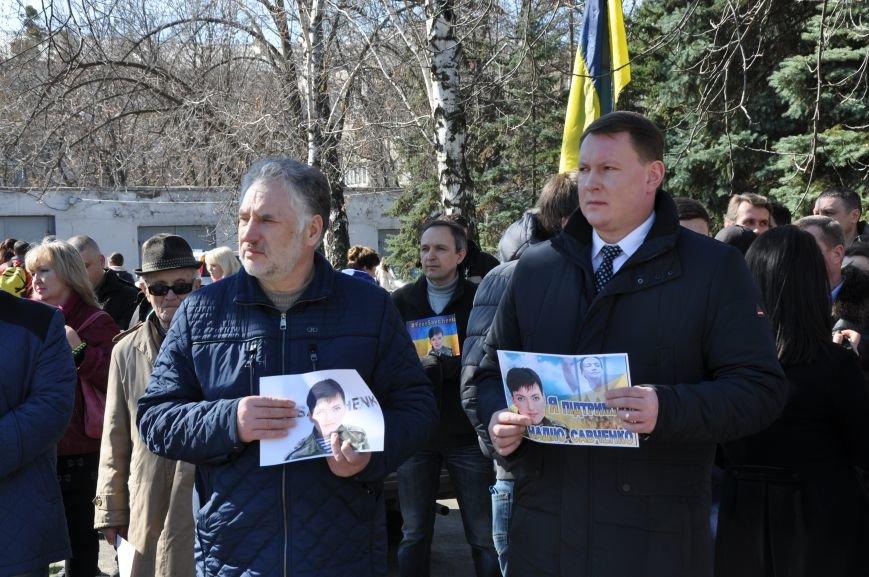 Шевченковский митинг в Краматорске перерос в акцию поддержки Надежды Савченко, фото-9