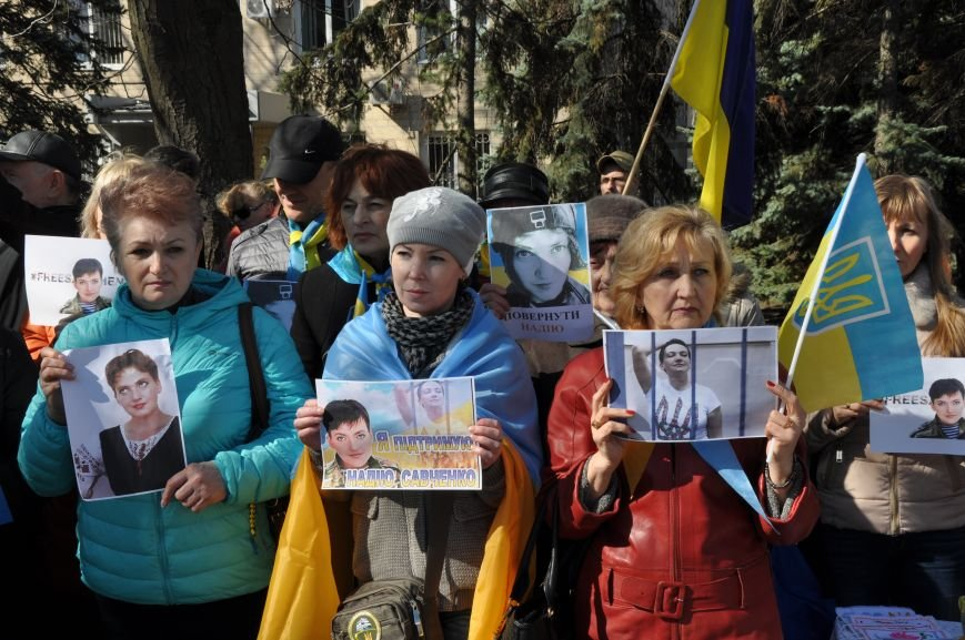 Шевченковский митинг в Краматорске перерос в акцию поддержки Надежды Савченко, фото-7