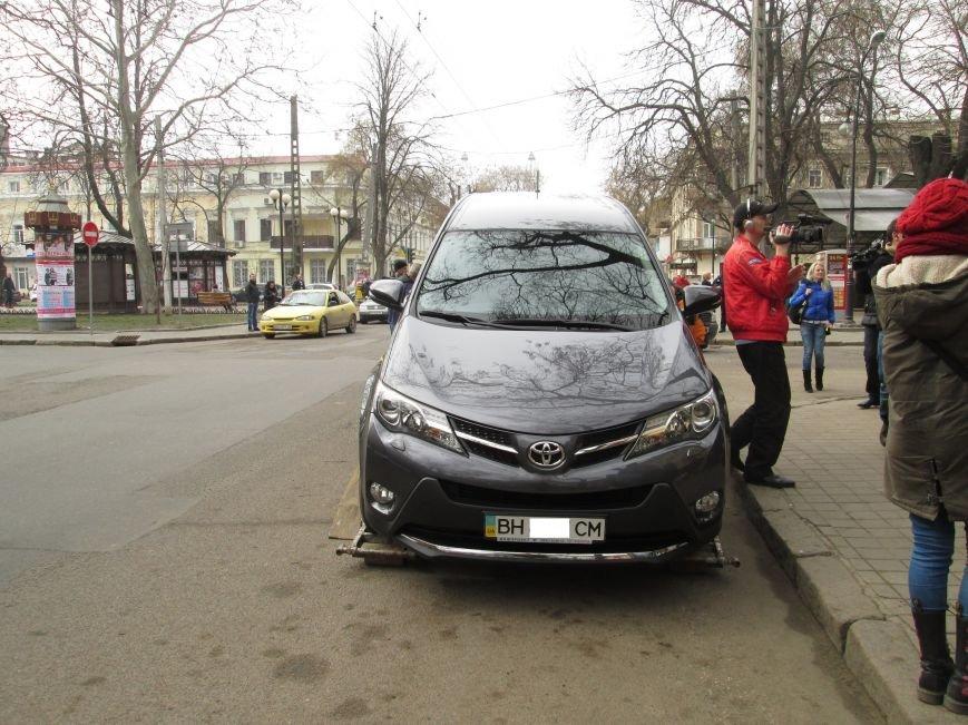 Патрульная полиция массово штрафует водителей в центре Одессы (ФОТО), фото-1