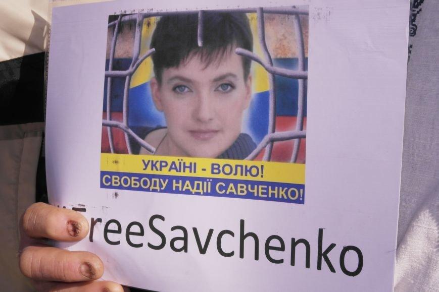 В Красноармейске общественность требует освободить всех украинских политзаключенных, скандируя   «Free Savchenko», фото-3