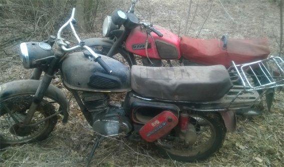 В Кировоградской области нашли 2 похищенных мотоцикла (ФОТО) (фото) - фото 1