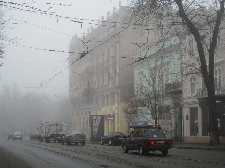 Сказочная Одесса: Город в тумане (ФОТОРЕПОРТАЖ) (фото) - фото 1