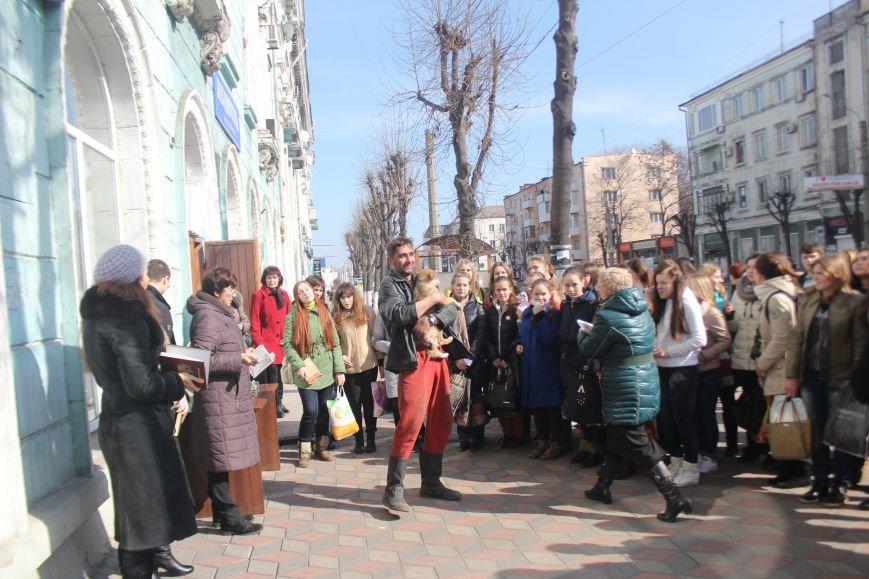 В Днепродзержинске состоялся флешмоб «Читаем Шевченко», фото-3