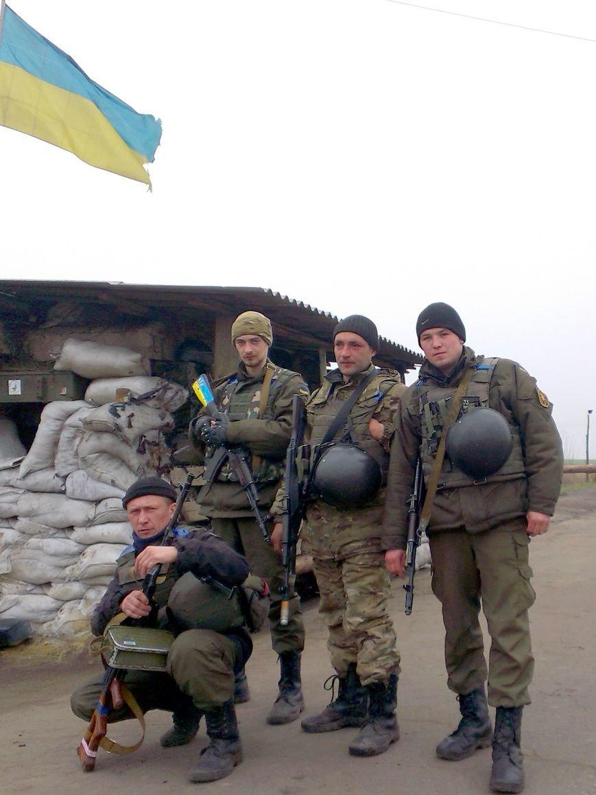 Харьковские нацгвардейцы задержали наркоманов на блокпосту под Донецком (ФОТО) (фото) - фото 1