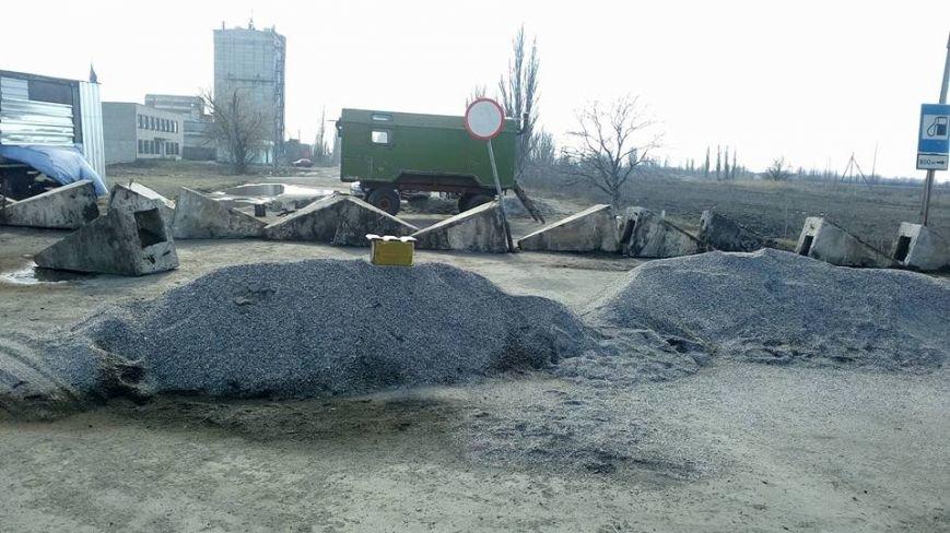 На Криворожской трассе почти две недели перекрыта дорога на Николаев (фото) - фото 2