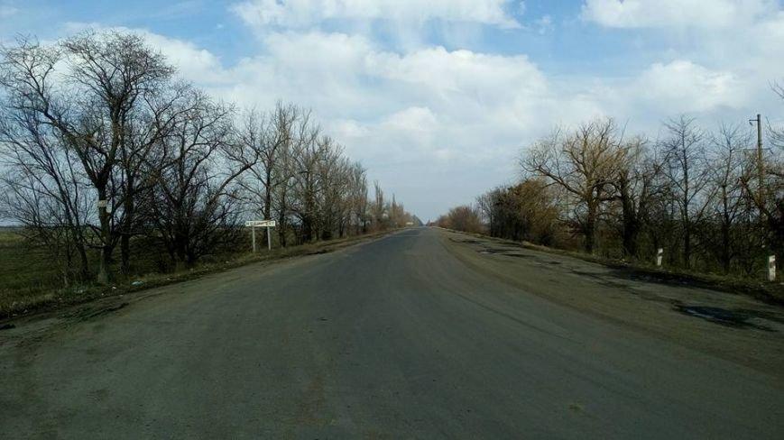 На Криворожской трассе почти две недели перекрыта дорога на Николаев (фото) - фото 1