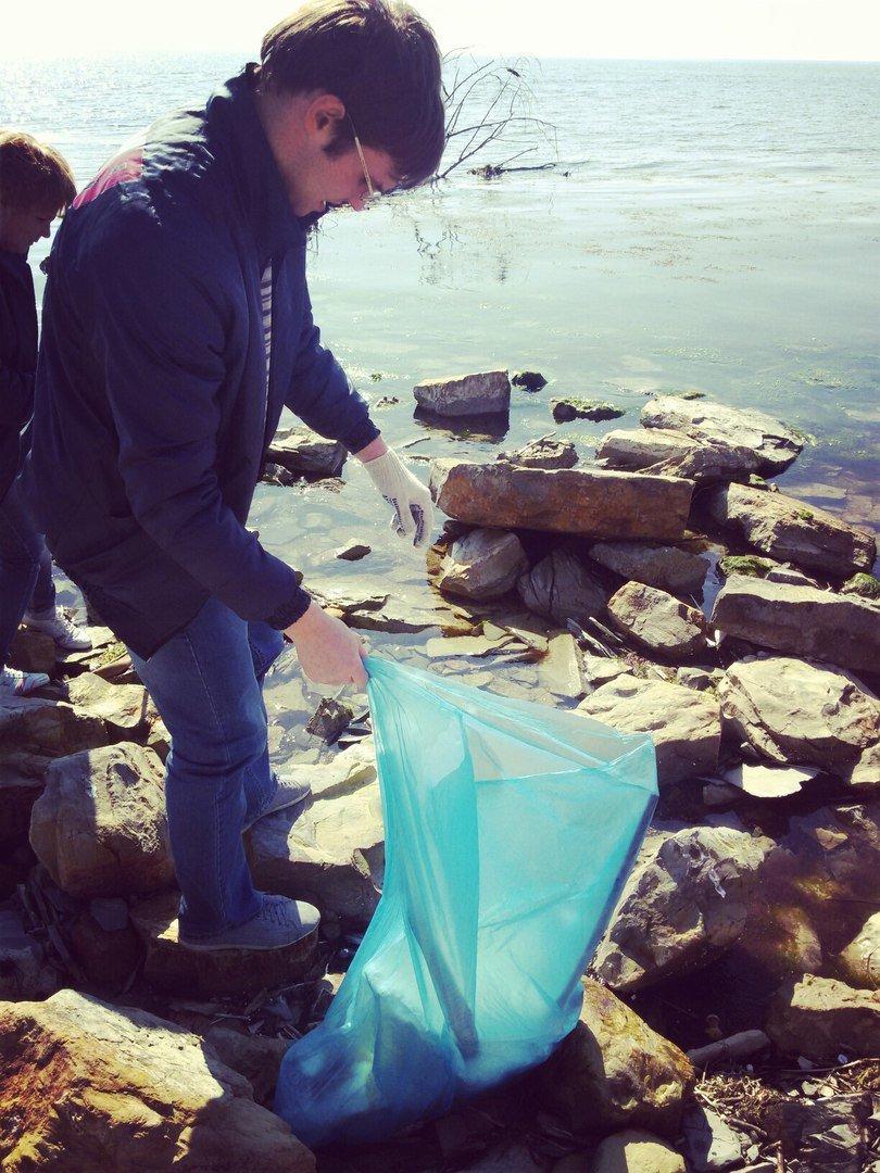 На пляже Анапы высадился экодесант (фото) - фото 4