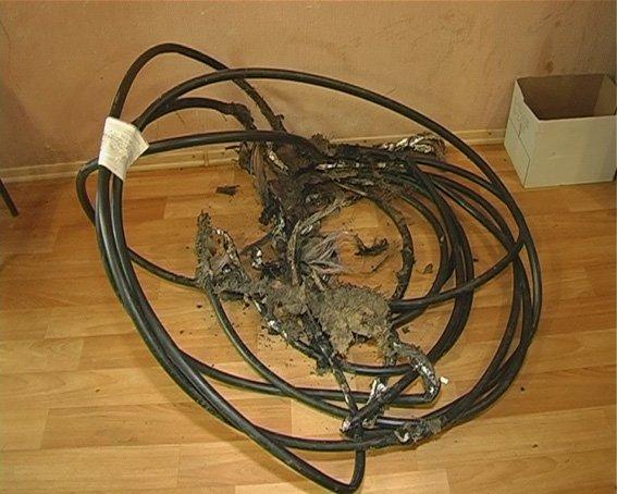 В Сумах задержали похитителя кабелей (ФОТО) (фото) - фото 1