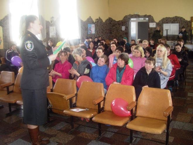 Как отметили 8 Марта в Днепродзержинской колонии №34 (фото) - фото 1