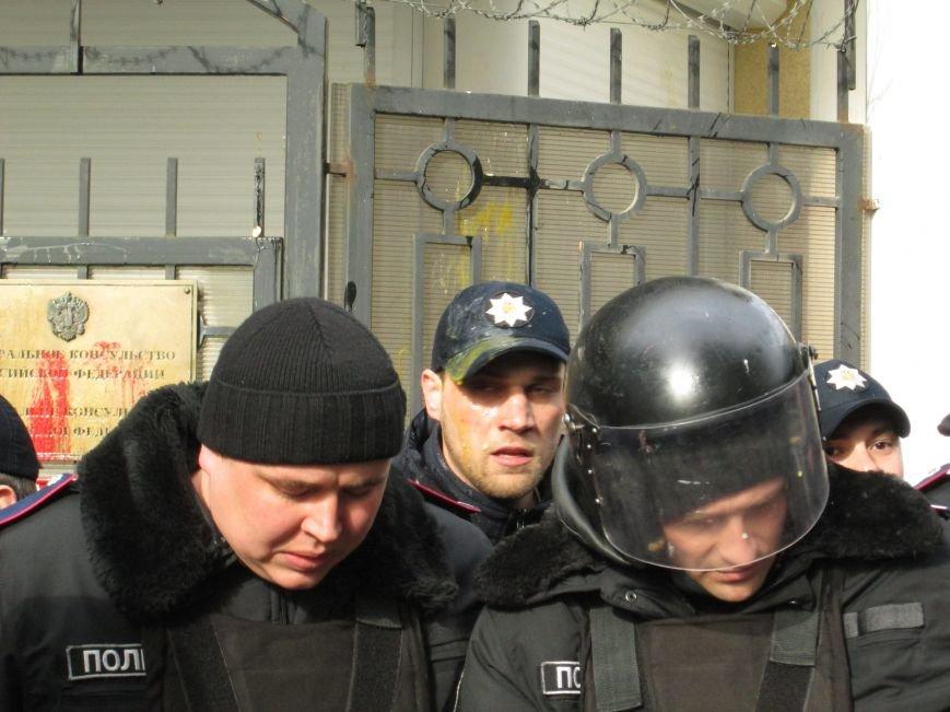 4775df1f85ee2660900c1fae8c70505f #FreeSavchenko: Штурм одеского консульства России и сожжение диктатора Путина