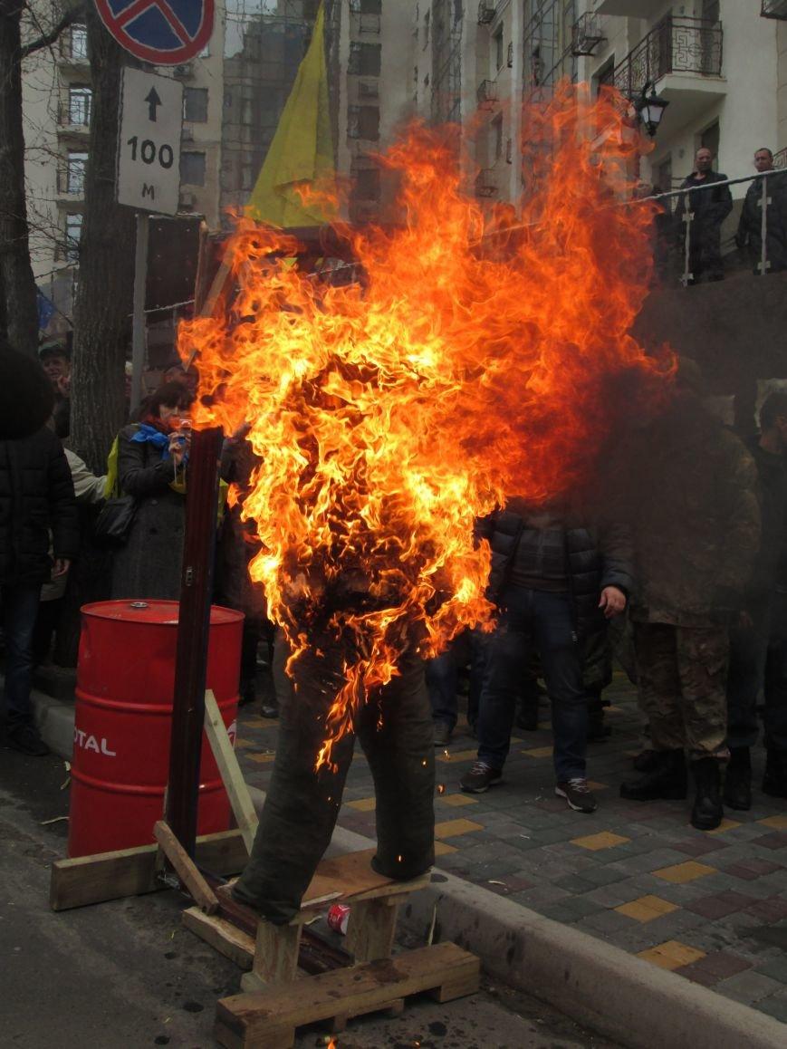 #FreeSavchenko: Штурм одеского консульства России и сожжение диктатора Путина (ФОТО, ВИДЕО), фото-18