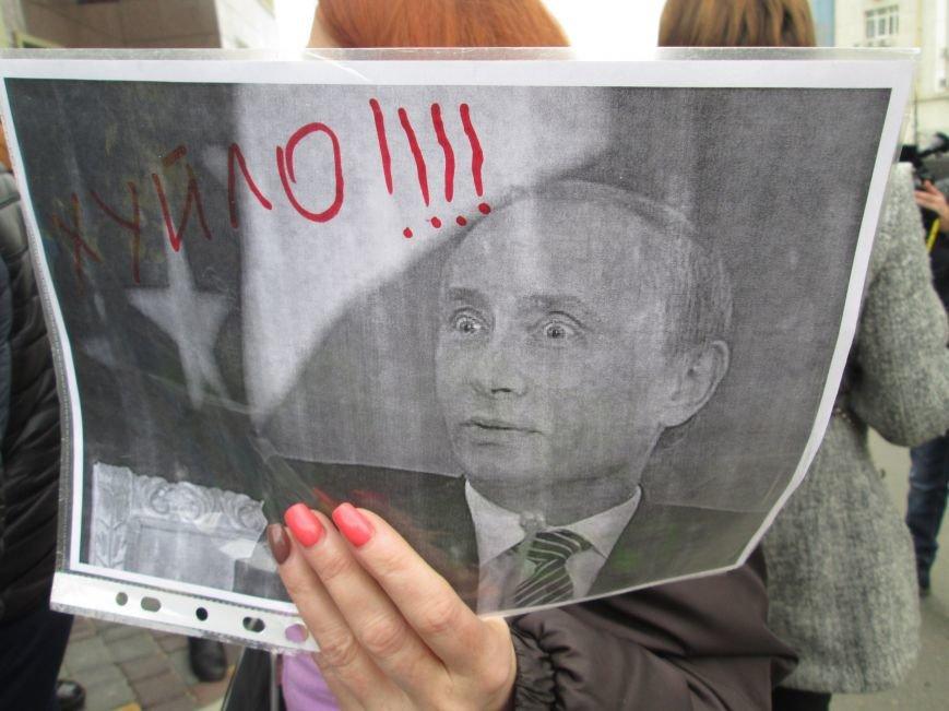 66bcf8785eb7ed7a4d5e81ad1c44d576 #FreeSavchenko: Штурм одеского консульства России и сожжение диктатора Путина