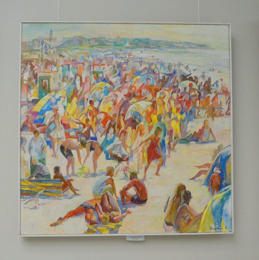 В Черноморске проходит выставка картин Александра Вербича (фото) - фото 1