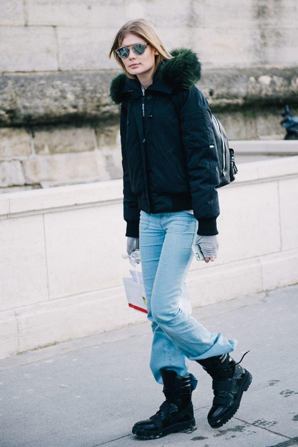 ТОП-10 невероятных street style-образов из столицы моды (фото) - фото 1