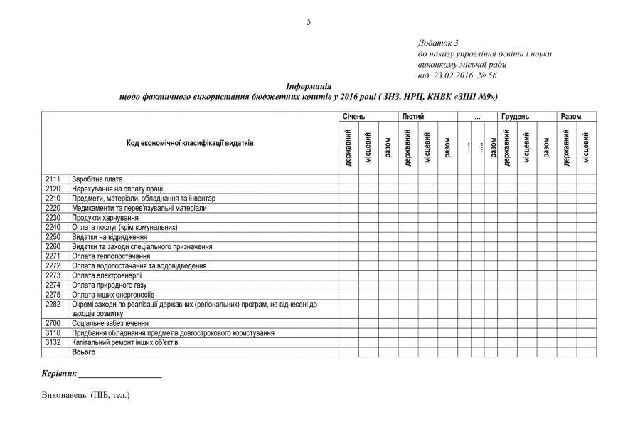 В Кривом Роге откроют доступ к информации о расходах и распорядителях средств в сфере образования (ДОКУМЕНТ), фото-5