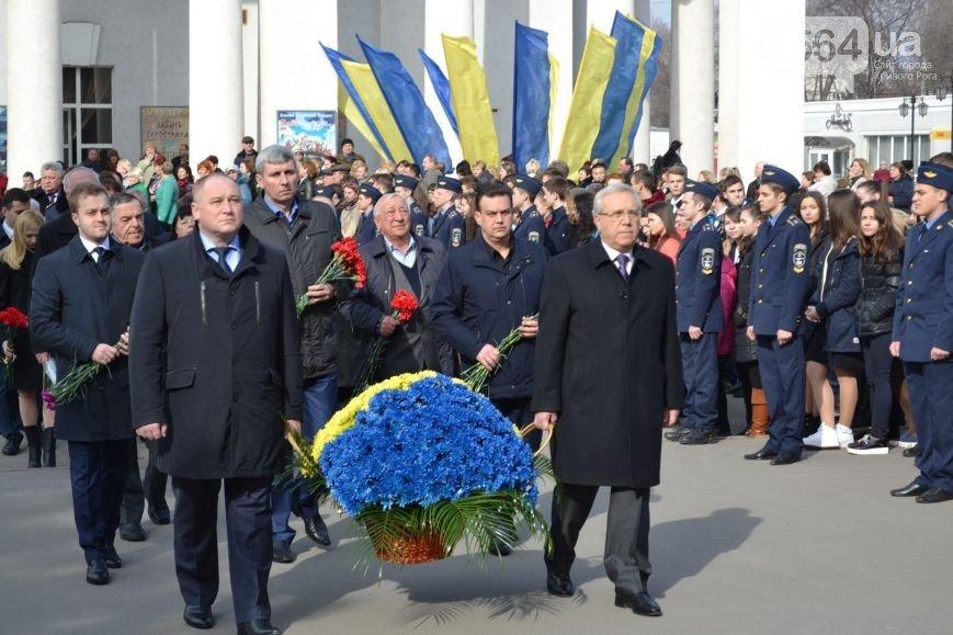 В Кривом Роге: почтили память Великого Кобзаря, требовали освободить Надежду Савченко, утвердили текст избирательного бюллетеня (фото) - фото 2
