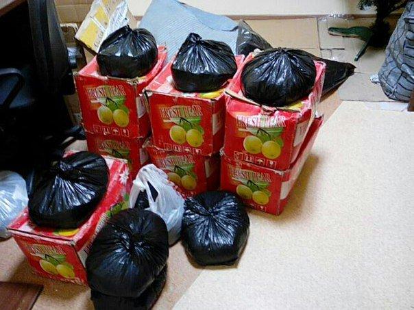 В Гродно у женщины-продавца сухофруктов нашли 200 килограмм насвая (фото) - фото 1
