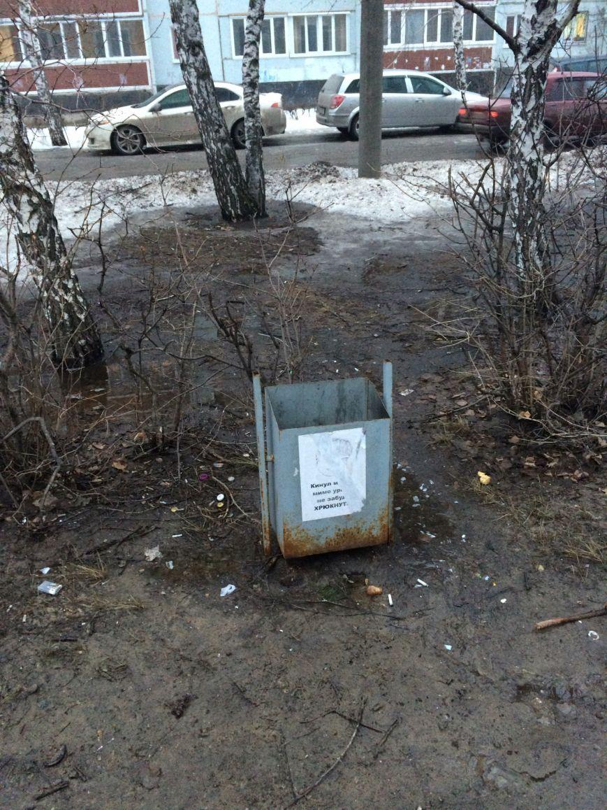 В Заволжье появились урны с приколами, фото-2