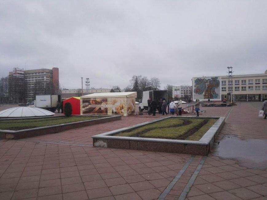Фотофакт: Новополоцк готовится встречать Масленицу (фото) - фото 2
