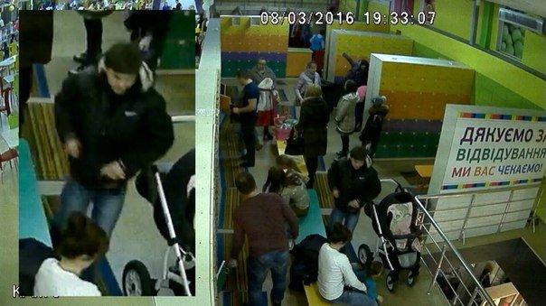 В детском развлекательном центре в Одессе вор «прошелся» по шкафчикам (ФОТО) (фото) - фото 1