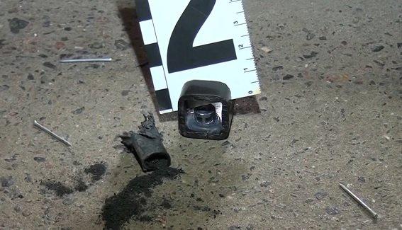 В университете Гринченко взорвалась самодельная бомба (ФОТО) (фото) - фото 1